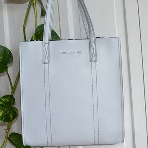 NWT $395 MARC JACOBS LEATHER TOTE